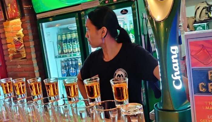 a famous pub crawl in thailand