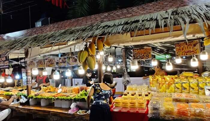 night market of pattaya