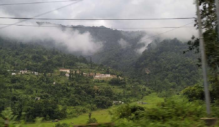 amazing view hills