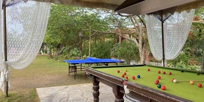 table tennis and pool