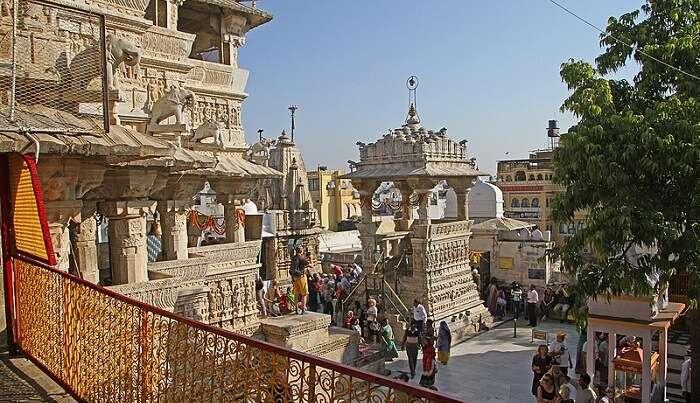 temple dedicated to Lord Vishnu