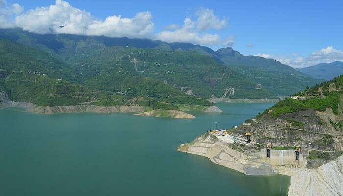 Bhagirathi River in Kanatal