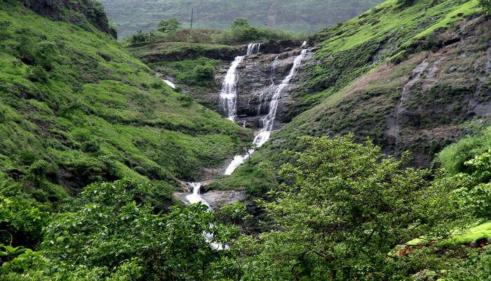 waterfall in karjat