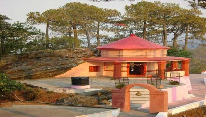 Religious Kasar Devi Temple
