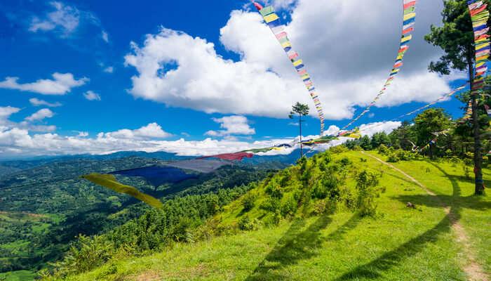 kathmandu monutain view