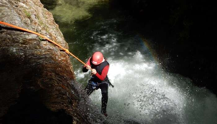 enjoy the fun of Canyoning