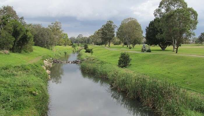 Kedron Brook is an urban creek in the SouthEast region of Queensland