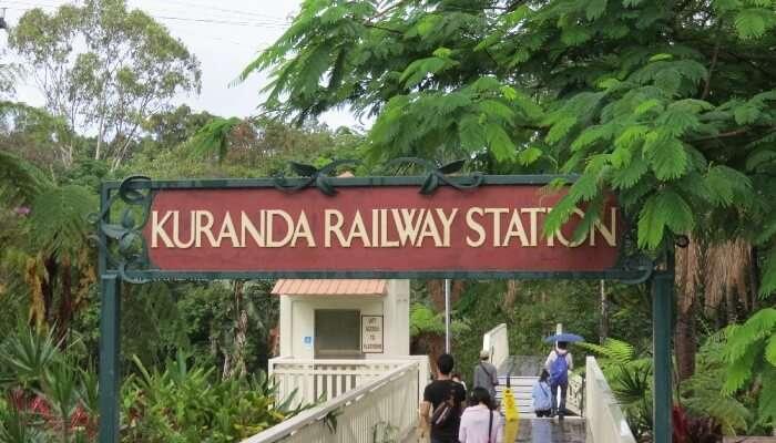 Kuranda Scenic Railway, Queensland, Australia
