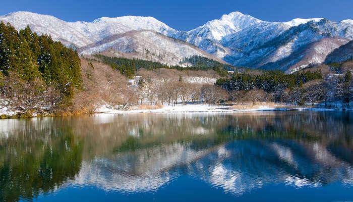 Lake Daigenta in Niigata