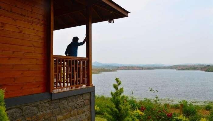 breath-taking view of the Karapuzha