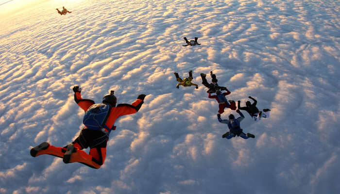 Lifetime Skydiving Experience At Hervey Bay