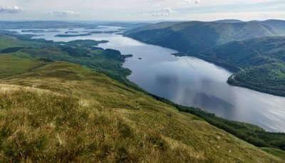 Loch Lomond, looking south from Ben Lomond