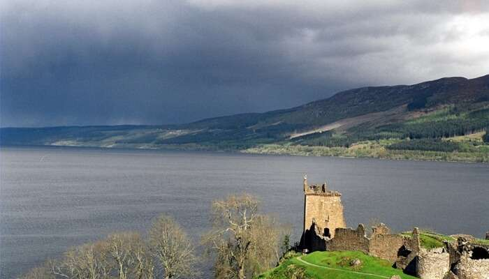beauty and famous Loch Ness