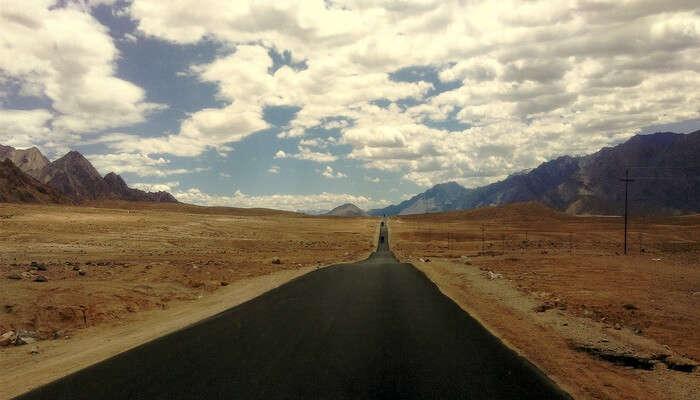 Landscape hill view, Ladakh