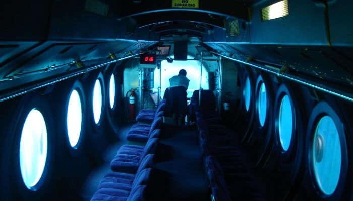 submarine interiors