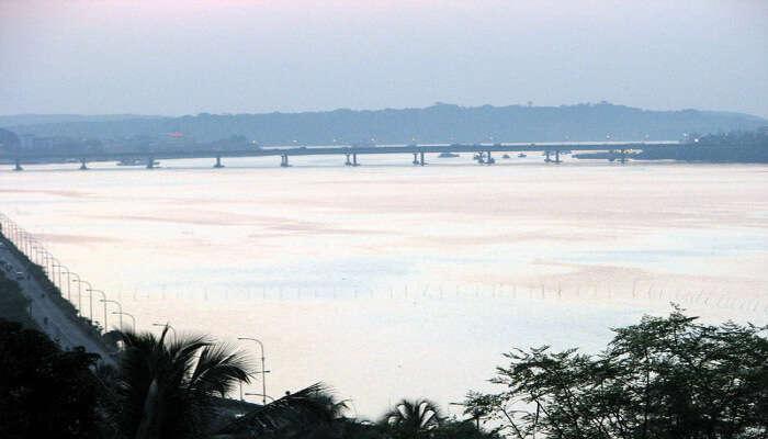 Mandovi River_