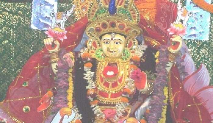 dedicated to Sati temple