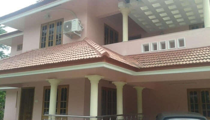magnificent villa is well situated in Kottayam