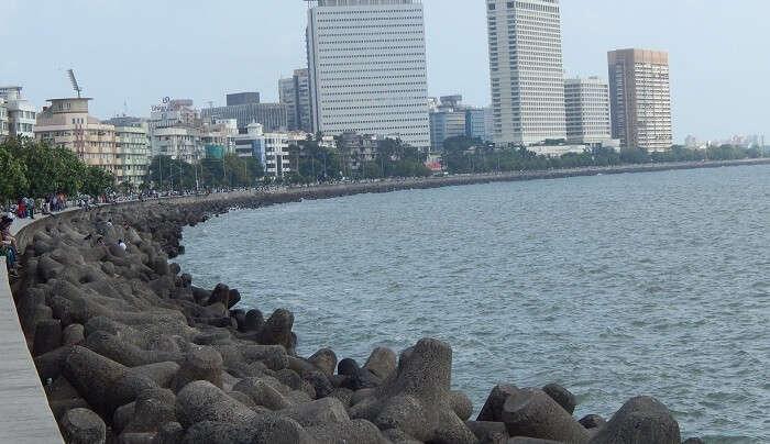 a coastal area of mumbai
