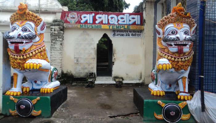 Mausima Temple, Puri