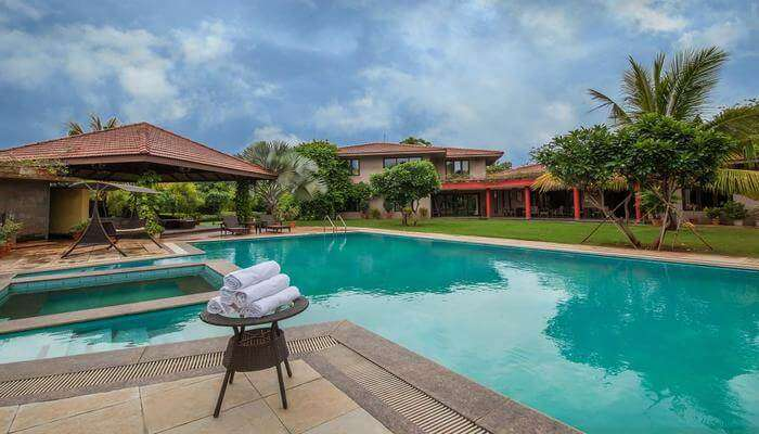 Moksh Villa pool