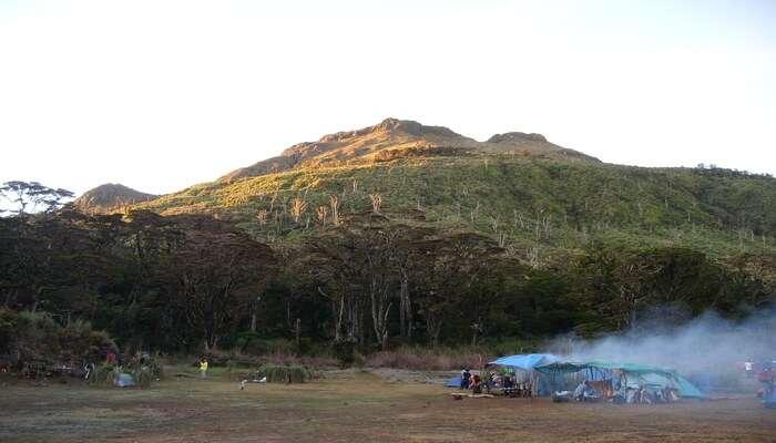 Mount Apo in Davao Del Sur