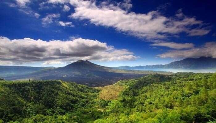 Mesmerising view of Mount Batur