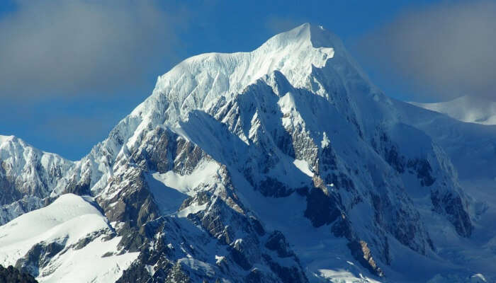 second-highest mountain in New Zealand