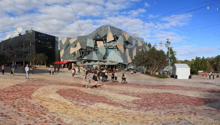 Christmas is all about fun, eating and drinking! Fed Square christmas film screenings
