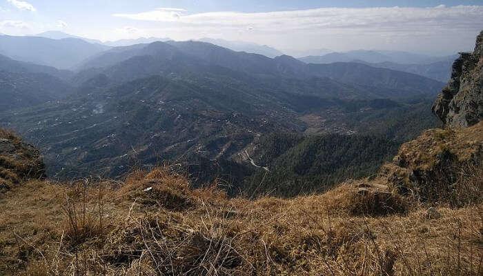 Mountains In Mukteshwar