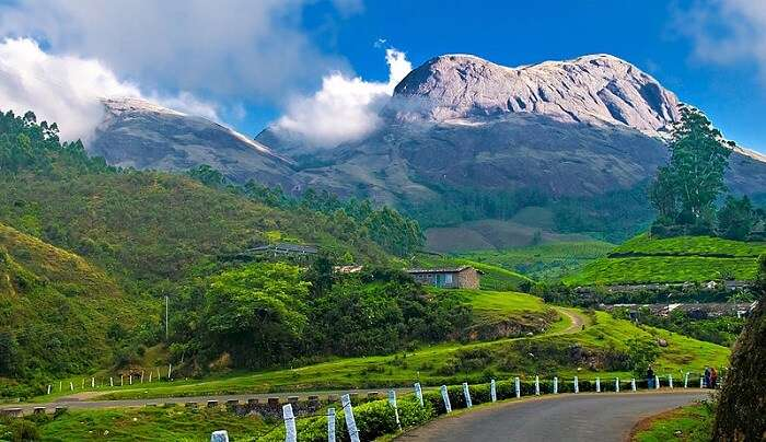 beautiful hill station