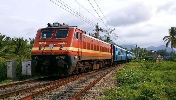 NZM KOP Express plies between Delhi and Kolhapur