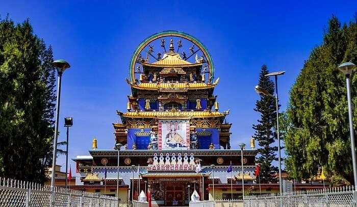 a lovely Tibetan monastery