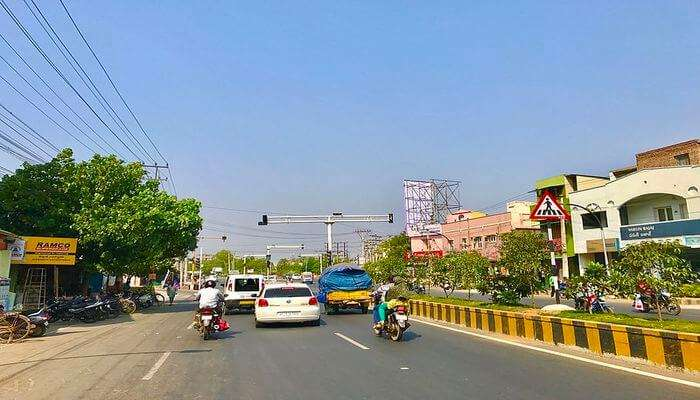 Old City Streets And Eluru Road