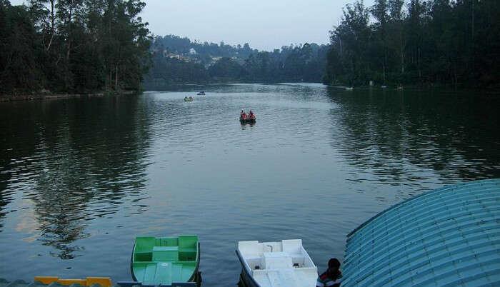 Beautiful Lake in Ooty