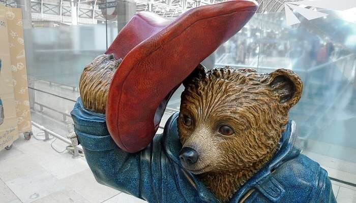 Paddington Bear In  London