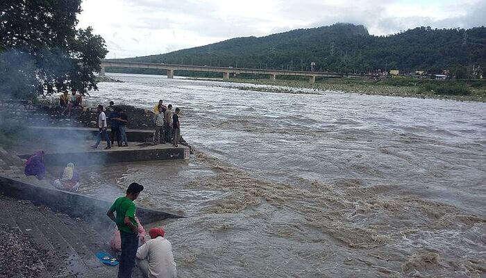 Paonta Sahib river