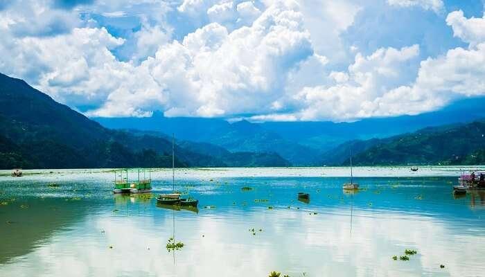 Pokhara lake view