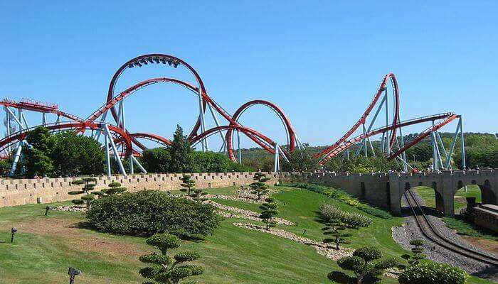 highest roller coaster