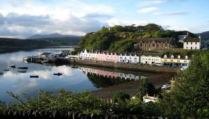 Portree in Isle Of Skye