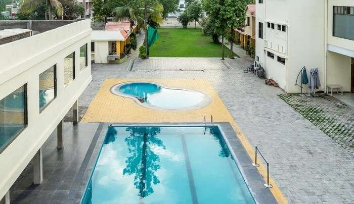 one of the luxurious resorts in shirdi