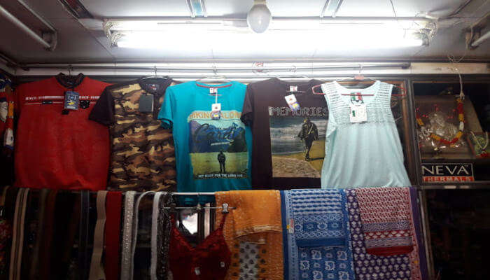 Garments store
