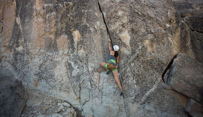Experience of Rock Climbing