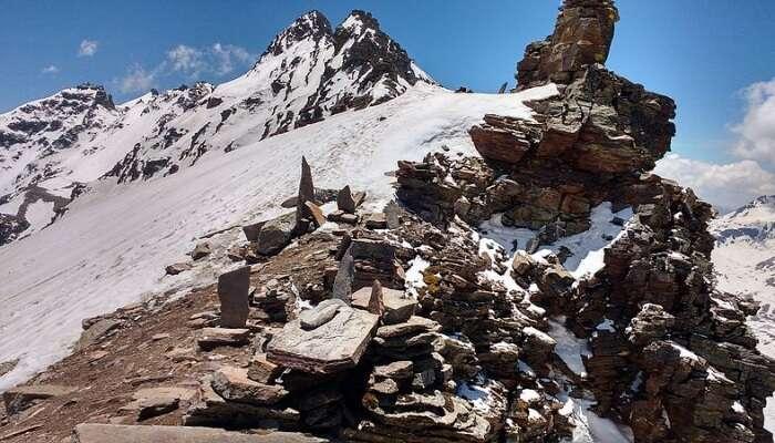 Snowcapped Rupin Pass, Kufri