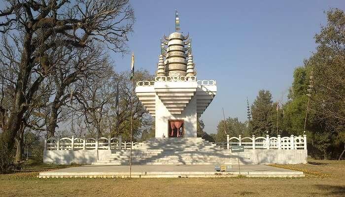 Sanamahi Temple in Manipur