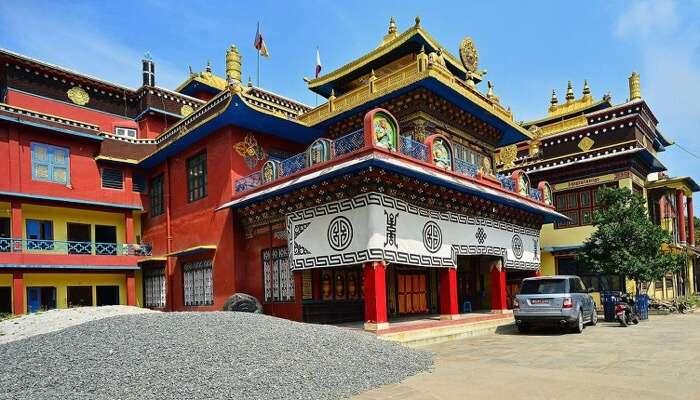 Shedup Choephelling Temple mussoorie