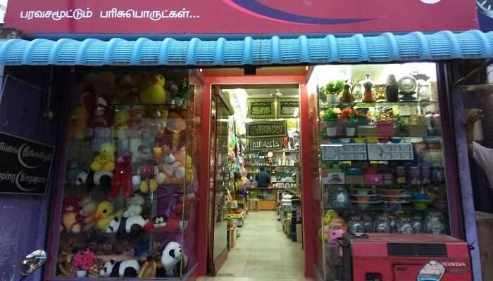 Shopping Singapore vellore