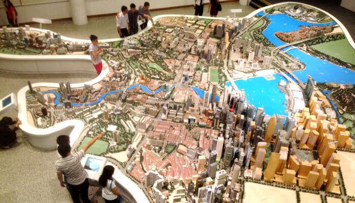 Singapore City Gallery, SIngapore