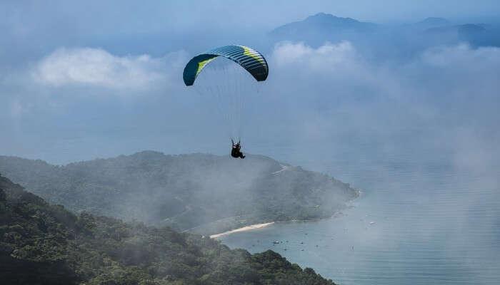 coastal mountains of Pattaya