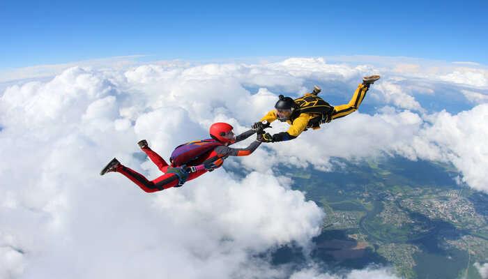 Skydiving At Noosa